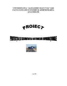 Protectia si Securitatea Sistemelor Informationale - Pagina 1