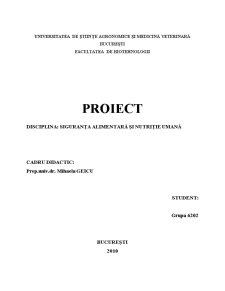 Implementarea HACCP in Sectorul de Productie si Procesare a Fructelor si Legumelor - Studiu de Caz - Dulceata de Prune - Pagina 1