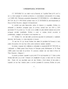 Evaluarea unui Proiect de Investitii in Domeniul Farmaceutic - SC Biofarm SA - Pagina 4