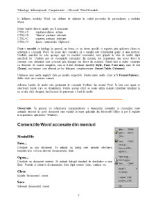 Tehnologii Informaționale Computerizate - Microsoft Word Essentials - Pagina 5