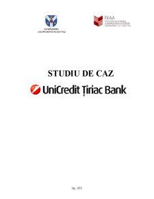 Monografie UniCredit Tiriac Bank - Pagina 1