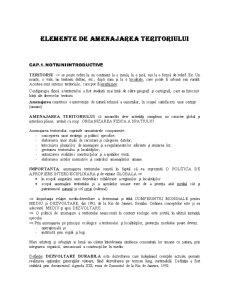 Curs Amenajare Teritoriu - Pagina 1