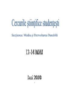 Poluarea Atmosferei cu Compuși Organici Volatili în Orașul Iași - Pagina 2