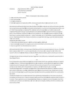 Dezvoltarea Umană - Pagina 1
