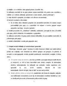 Dinamica Grupurilor - Pagina 2