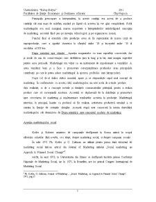 Marketing Social si Responsabilitatea Sociala - Pagina 5
