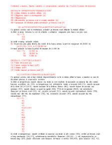 Continutul Economic, Functia Contabila si Corespondenta Conturilor din Clasa 5 - Pagina 1