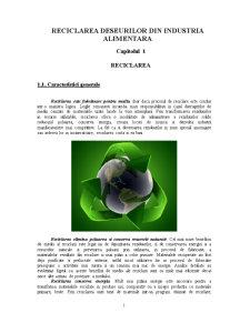 Reciclarea Deseurilor din Industria Alimentara - Pagina 2