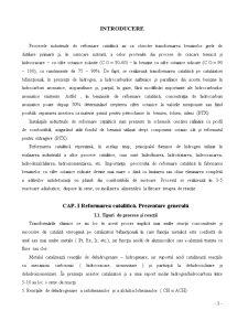 Proiectarea Tehnologica a Instalatiei de Reformare Catalitica de Tip UOP - Pagina 3