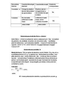 Determinarea Indicilor Organoleptici si Fizico-Chimici a Untului de Vaca cu Adaosuri - Pagina 4