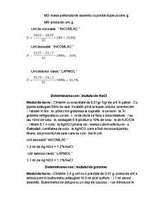 Determinarea Indicilor Organoleptici si Fizico-Chimici a Untului de Vaca cu Adaosuri - Pagina 5