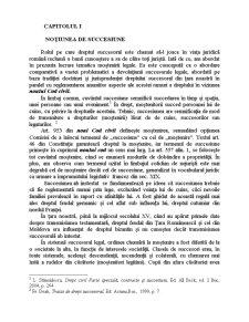 Devolutiunea Succesorala Legala in Viziunea Actualului si Noului Cod Civil si Elemente de Drept Comparat - Pagina 1