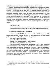Devolutiunea Succesorala Legala in Viziunea Actualului si Noului Cod Civil si Elemente de Drept Comparat - Pagina 2