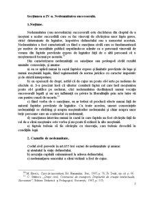Devolutiunea Succesorala Legala in Viziunea Actualului si Noului Cod Civil si Elemente de Drept Comparat - Pagina 5