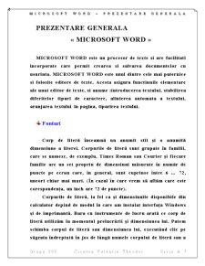 Proiect Informatica Microsoft WORD - Pagina 2
