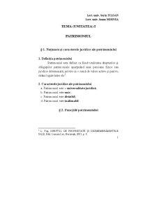 Patrimoniul - Pagina 1