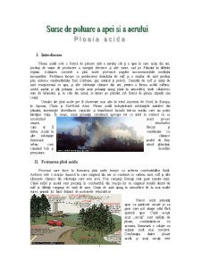 Ploaia Acidă - Pagina 1