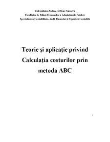Metoda ABC - Pagina 1