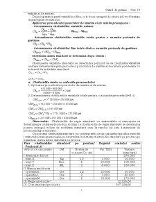 Costuri Previzionale - Metoda Standard Cost - Pagina 5