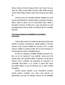 Ameliorarea Fenomenului Poluarii Generat de Industria Cimentului - Pagina 3
