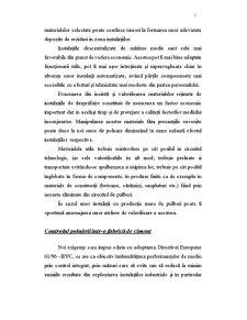 Ameliorarea Fenomenului Poluarii Generat de Industria Cimentului - Pagina 5