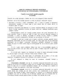 Aspecte Generale Privind Grupurile de Societăți și Consolidarea Conturilor - Pagina 1