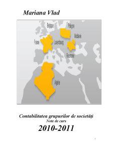 Contabilitatea Grupurilor de Societăți - Pagina 1