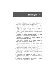 Analiza economico-financiară - Pagina 1