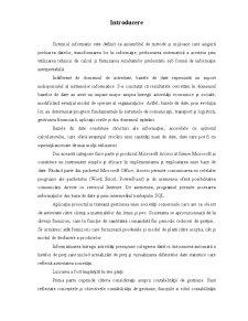 Gestiunea Stocurilor unei SC intr-o Baza de Date in Microsoft Access - Pagina 2