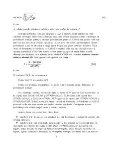 Criteriul VAN în Mediul Probabilistic - Pagina 2