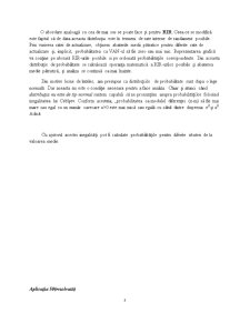 Criteriul VAN în Mediul Probabilistic - Pagina 3