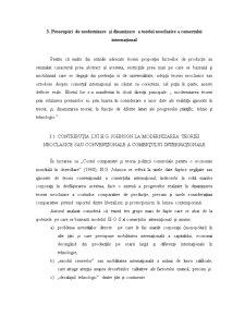 Preocupări de Modernizare și Dinamizare a Teoriei Neoclasice a Comerțului Internațional - Pagina 1