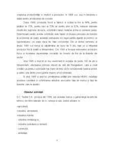 Analiza si Proiectarea Fluxurilor Financiar-Monetare ale Intreprinderii SC Textila SA - Pagina 5