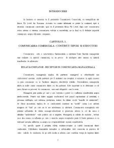 Comunicarea Comerciala la SC Fly Level SRL - Pagina 3
