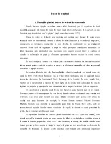 Piața de Capital - Pagina 1