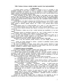 Dizolvarea și încetarea activității societăților comerciale în baza Legii - Pagina 1