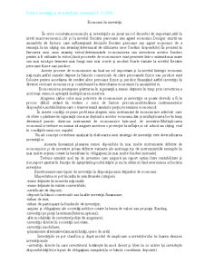 Politici Investitii si de Portofoliu - Economii in Investitii - Pagina 1
