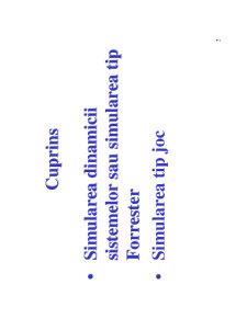 Alte Tipuri de Simulare - Pagina 2