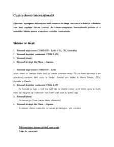 Contractarea Internațională - Pagina 1