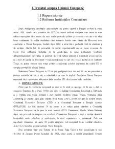 Tratatul asupra Uniunii Europene și Politica Socială - Pagina 3