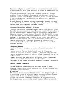 Drept Parlamentar - Sinteza Materie - Pagina 5