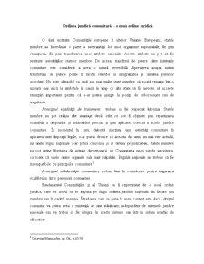 Ordinea Juridică Comunitară - Pagina 1