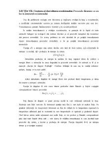 Creșterea și Dezvoltarea Ecosistemelor - Pagina 1