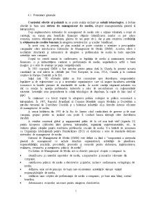 Sistem de Management de Mediu - Pagina 1