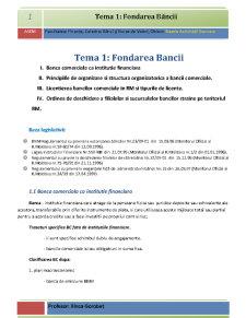 Bazele Activității Bancare - Pagina 1
