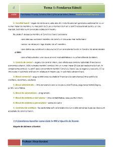 Bazele Activității Bancare - Pagina 4