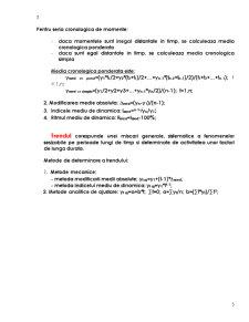 Analiza Statistica a Seriilor Cronologice - Pagina 3
