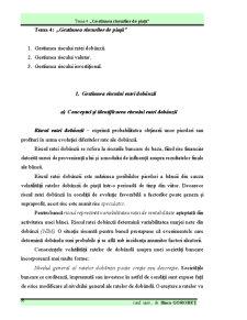 Gestiunea Riscurilor Financiar-Bancare - Pagina 1