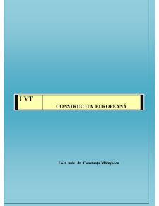 Construcție Europeană - Pagina 1
