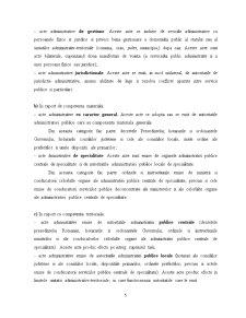 Actul Administrativ de Autoritate - Pagina 5